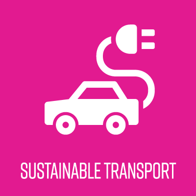 sustainable transport icon