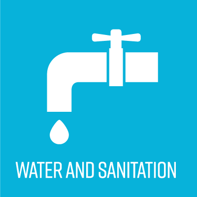 water and sanitation icon